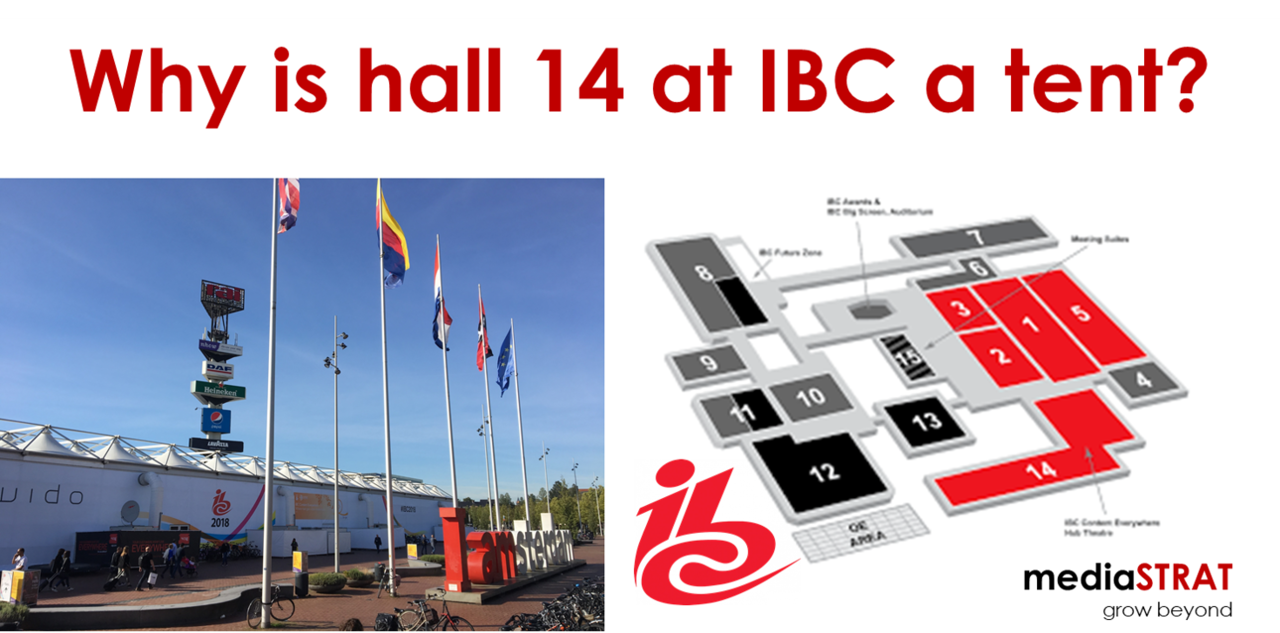 Why Ist Hall 14 At IBC A Tent?