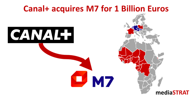 Canal+ Acquires M7 For 1 Billion Euros