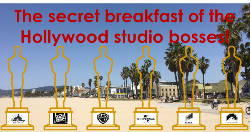 The Secret Breakfast Of The Hollywood Studio Bosses